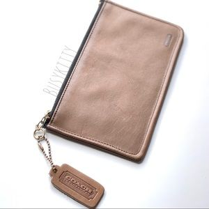 Vintage Coach Tabac Leather Skinny Case - 7170